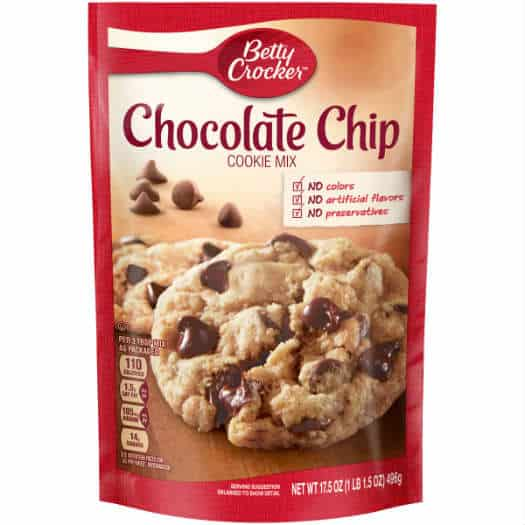 Betty Crocker White Chocolate Chip Macadamia Nut Cookies