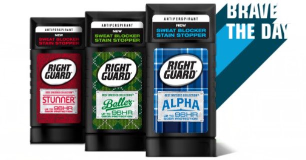 photo regarding Right Guard Printable Coupon titled Instantly Safeguard Easiest Dressed Assortment Deodorant Printable