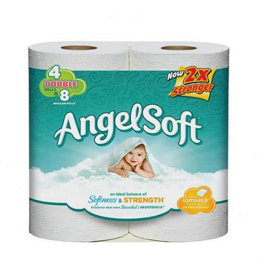 photo regarding Angel Soft Printable Coupon referred to as Angel Comfortable Tub Tissue Upon Sale, Basically $0.50 at Greenback Total