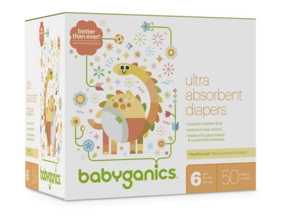 picture relating to Babyganics Coupon Printable identify Babyganics Diapers Club Box Accurately $15.99 Each individual At Concentration