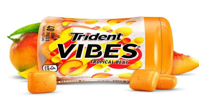 picture about Trident Coupons Printable titled Fresh new! Preserve $1.00 Off Trident Vibes Gum! - Printable Coupon codes