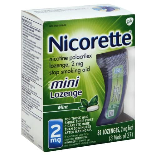 image relating to Nicorette Printable Coupon titled Nicorette Mini Lozenge Upon Sale, Basically $9.95 at Concentration