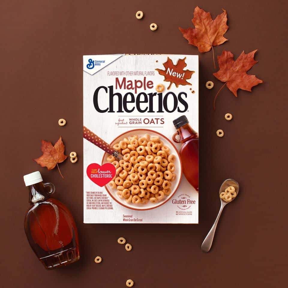 photograph about Cheerios Coupons Printable named Help save With $0.75 Off Maple Cheerios Coupon! - Printable