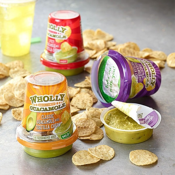 Wholly Guacamole Snack Cup On Sale, Only $1 23 at Walmart