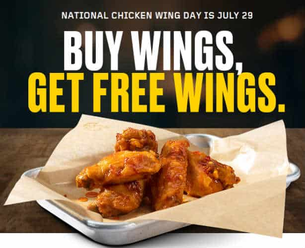 image regarding Buffalo Wild Wings Printable Coupons known as Cost-free Very low Boneless Wings with Buy at Buffalo Wild