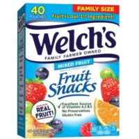 Welch's Fruit Snacks 40-CT Box Only $7.11 Shipped at Amazon!